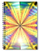 Blooming Seasons Banner Spiral Notebook