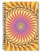 Blooming Seasons Kaleidoscope Spiral Notebook