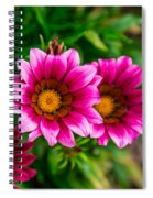 Blooming With Life Spiral Notebook