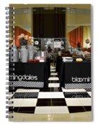 Bloomingdales Showroom Floor Spiral Notebook