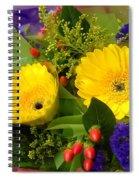 Blossom Yellow Gerbera Spiral Notebook