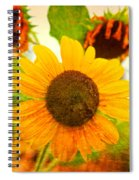 Blossoming Sunflower Beauty Spiral Notebook