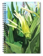 Blossoming Butterfly Ginger Spiral Notebook