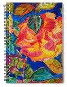 Blossoms Aglow Spiral Notebook