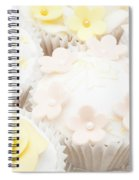 Blossoms And Bows Cupcake Spiral Notebook