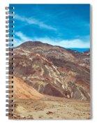 Blotchy Foothills Spiral Notebook