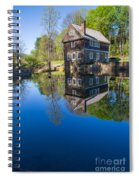 Blow Me Down Mill Cornish New Hampshire Spiral Notebook