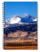 Blow The Wind Spiral Notebook