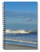 Blowin' In The Wind Seaside Heights New Jersey Spiral Notebook