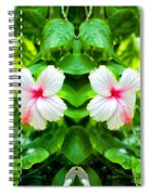 Blowing In The Breeze Mirror Image Spiral Notebook