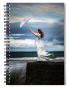 Blowing In The Wind Spiral Notebook