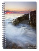Blowing Rocks Sunrise Spiral Notebook