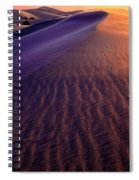 Blowing Sand At Death Valley Spiral Notebook