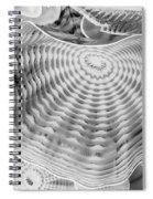 Blown Glass Infrared Spiral Notebook