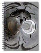 Blown Out Filament Spiral Notebook