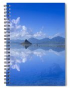 Blue Mokolii Spiral Notebook