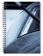 Blue 12 Spiral Notebook
