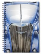 Blue 1937 Chevy Too Spiral Notebook