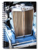 Blue 1953 Mg Spiral Notebook