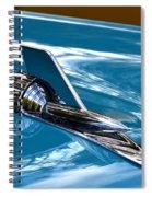 Blue 57 Chevy Bel Air Spiral Notebook