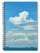 Blue A Sailors Delight Spiral Notebook