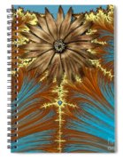 Blue And Brown Synergy Spiral Notebook