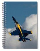 Blue Angel 6 Condensation Climb Spiral Notebook
