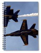 Blue Angel Demonstration Spiral Notebook
