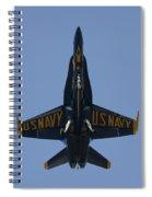 Blue Angel F/a-18 Spiral Notebook