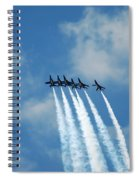 Blue Angels 3 Spiral Notebook