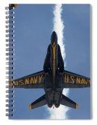 Blue Angels Overhead Break  Spiral Notebook