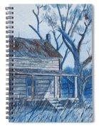 Blue Landscape Spiral Notebook