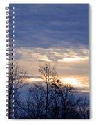 Blue At Dusk Spiral Notebook