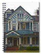 Blue Bainbridge Beauty Spiral Notebook