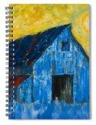 Blue Barn Number One Spiral Notebook