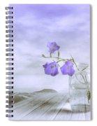 Blue Bells Spiral Notebook