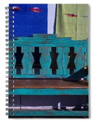 Blue Bench Spiral Notebook