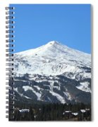 Blue Bird Day Spiral Notebook