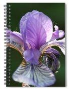 Blue Blooded Spiral Notebook