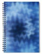 Blue Blur Spiral Notebook