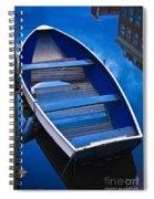 Blue Boat Spiral Notebook