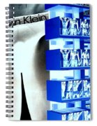 Blue Briefs Spiral Notebook