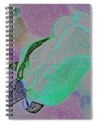 Blue Bud Spiral Notebook