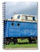Blue Caboose Spiral Notebook