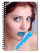 Blue Candy Spiral Notebook