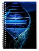 Blue Canoe Spiral Notebook