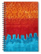 Blue Canyon Original Painting Spiral Notebook