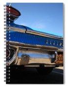 Blue Car Bumper Havana Spiral Notebook