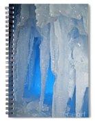 Blue Cave Spiral Notebook