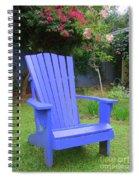 Blue Chair Spiral Notebook